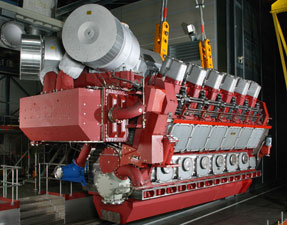 Red Cat marine engine