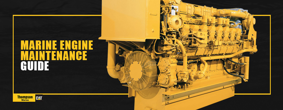 Marine engine maintenance guide