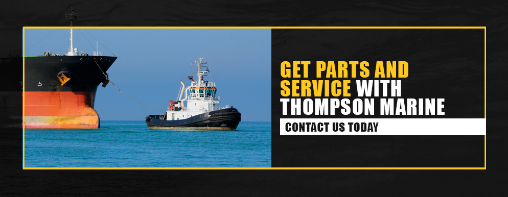 get parts and service with thompson marine